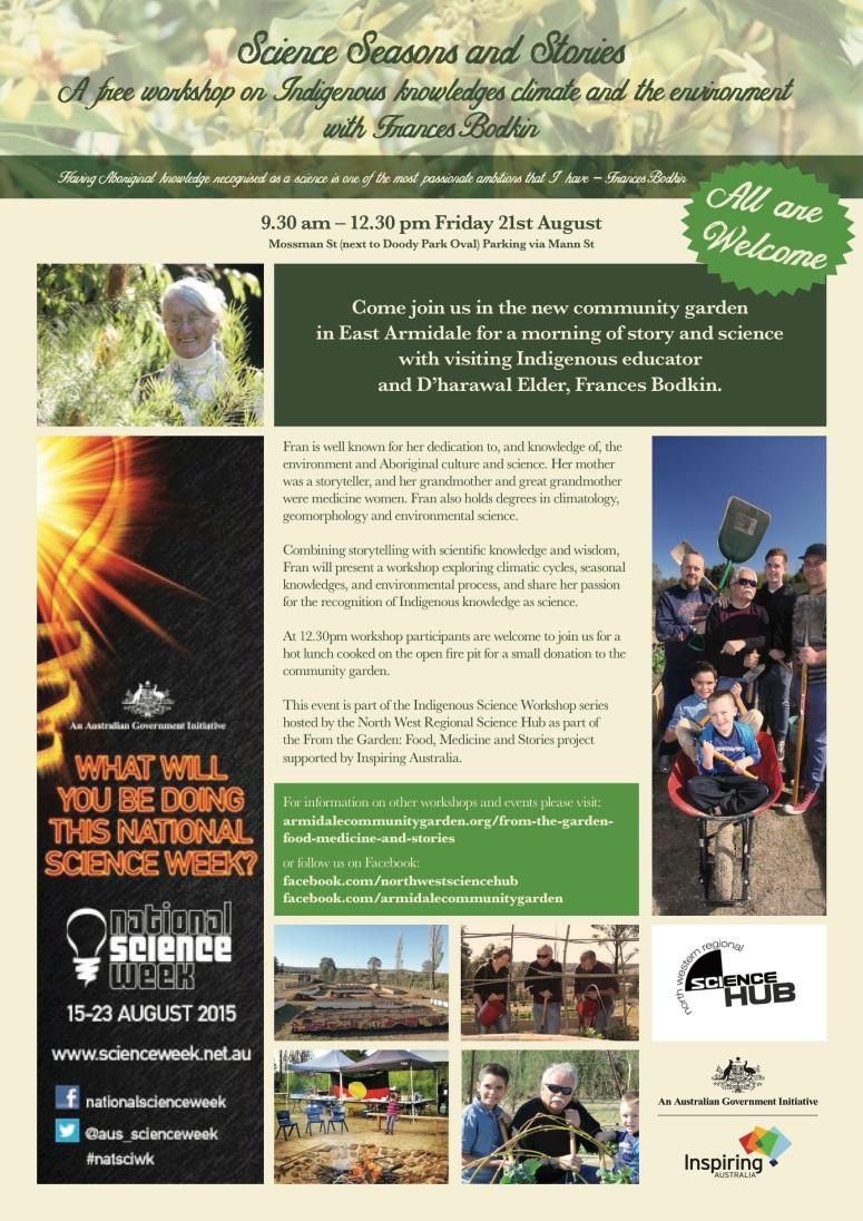Armidale-Community-Garden-ScienceWeek-Poster-2015_TM-v1