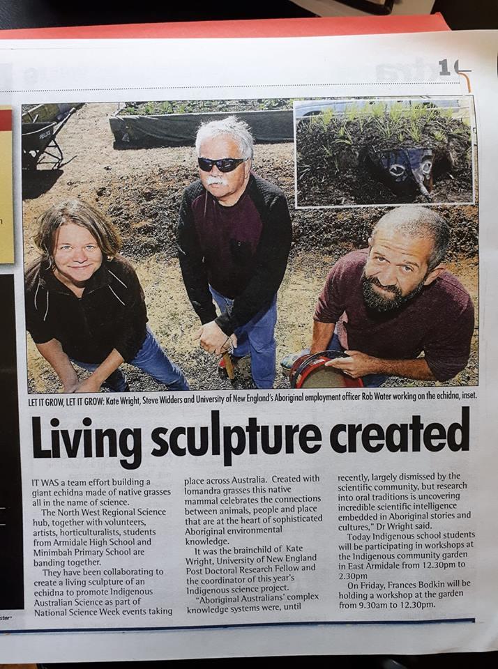 Newspapers – Armidale Aboriginal Community Garden