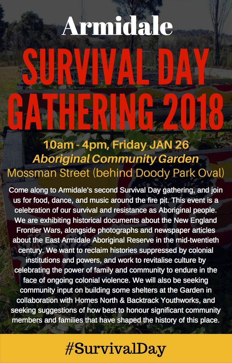 Survival Day poster